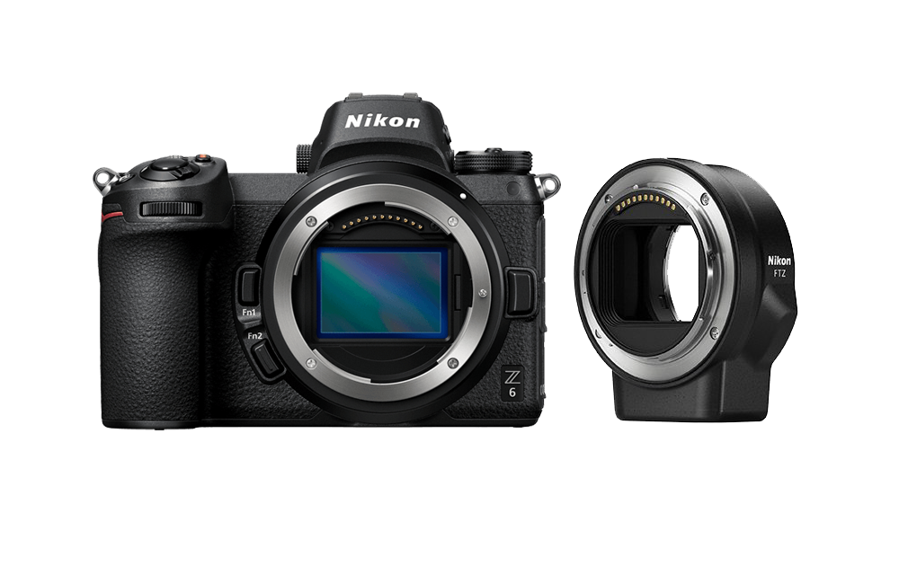Nikon Фотокамера Z 6 + переходник FTZ VOA020K002
