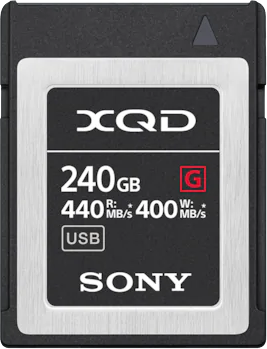 Nikon Карта памяти XQD Sony QD-G240F