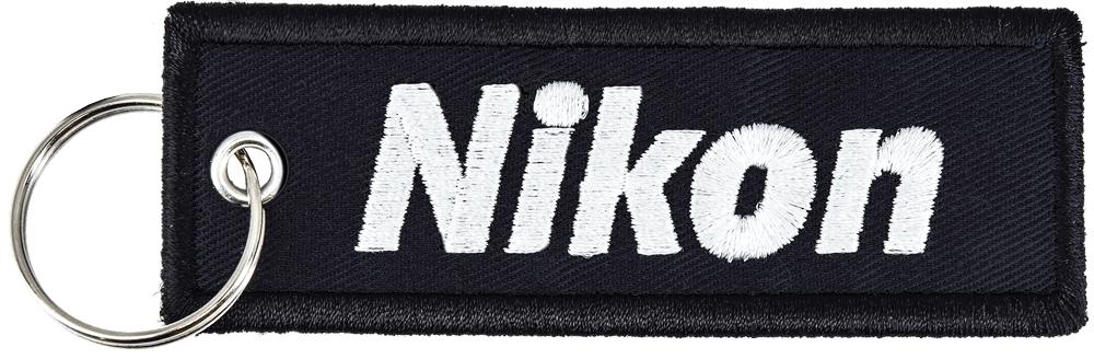 Nikon Брелок с логотипом (чёрный) фото