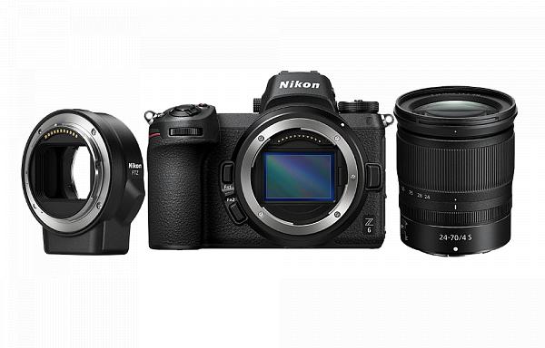 Nikon Фотокамера Z 6 + объектив 24-70/4 S + переходник FTZ фото