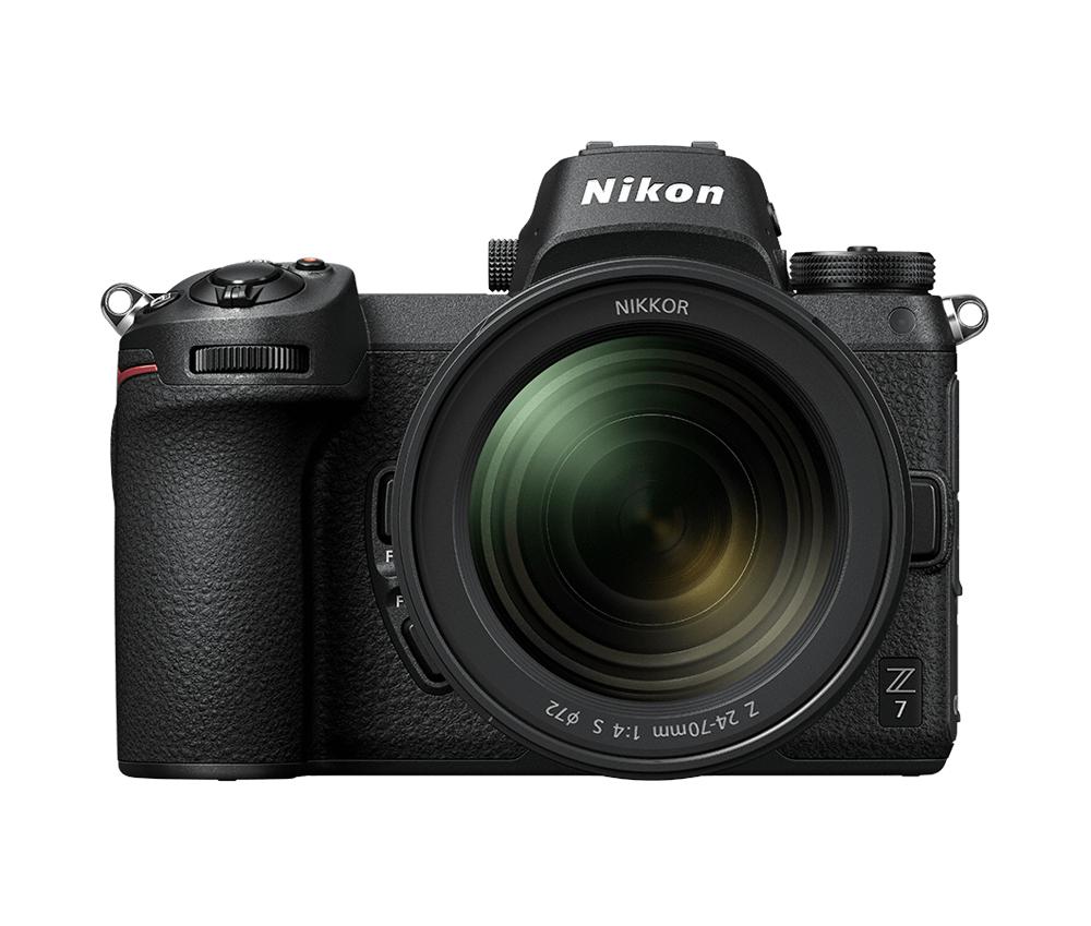 Nikon Фотокамера Z 7 + объектив 24-70/4 S + 64Gb XQD фото