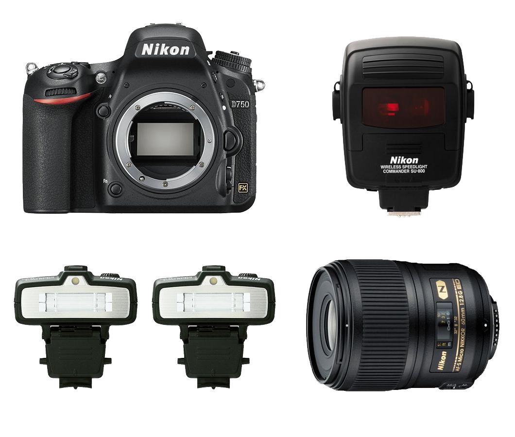 Nikon Dental Kit D750 + AF-S MICRO 60mm f/2.8G + Kit R1C1 фото