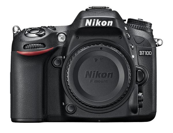 Nikon D7100 Body (без объектива)Любительские<br>Эта многофункциональная, чрезвычайно легкая и компактная модель, которая заключена в прочный корпус, имеет матрицу формата DX высочайшего качества и позволяет достичь новых высот мастерства в области фотосъемки. Не задействуя оптический низкочастотный фильтр (OLPF), фотокамера D7100 по максимуму использует 24,1-мегапиксельную КМОП-матрицу формата DX для обеспечения впечатляюще высокого разрешения и исключительной четкости даже текстур с мельчайшими деталями. Ее система автофокусировки (АФ) с 51 точкой обеспечивает быструю и сверхточную съемку изображений на профессиональном уровне.  <br> Эта высококачественная цифровая зеркальная фотокамера, защищенная от неблагоприятных погодных условий и попадания пыли, с верхней и задней крышками из магниевого сплава, отличается скоростью съемки 6 кадров в секунду, обеспечивает дополнительный эффект телефото благодаря инновационной функции 1,3-кратного кадрирования и поддерживает чувствительность ISO 100–6400 единиц, что позволяет делать превосходные снимки в условиях недостаточного освещения или при быстром движении объекта.<br> <br> Снимайте с помощью видоискателя или в режиме live view, применяйте специальные эффекты для фотографий или видеороликов в формате Full HD в реальном времени, а также отправляйте изображения по беспроводной связи* на интеллектуальное устройство для обмена в социальных сетях — что бы вы ни делали, куда бы ни направлялись, фотокамера D7100 обеспечивает исключительные возможности управления.<br><br>Тип: Цифровая зеркальная фотокамера<br>Формат матрицы: DX<br>Тип матрицы, размер: КМОП: 23,5 x 15,6 мм<br>Эффективное число пикселей: 24,1 млн<br>Процессор (АЦП): EXPEED 3<br>Чувствительность ISO: 100–6400 единиц ISO с шагом 1/3 или 1/2 EV. Может быть установлена примерно на 0,3, 0,5, 0,7, 1 или 2 EV (эквивалентно 25 600 единицам ISO) выше чувствительности 6400 единиц ISO<br>Автофокусировка: Multi-CAM 3500DX с определением фазы TTL, тонкой подстройкой, 51 точкой 