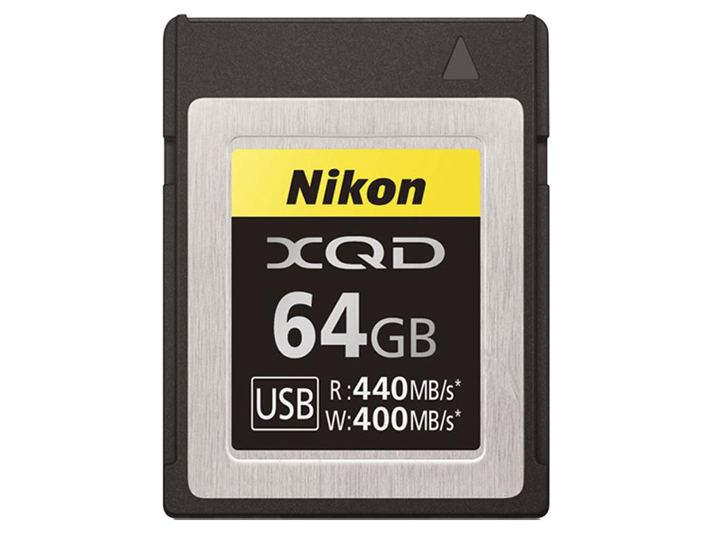 Nikon Карта памяти XQD 64Gb фото
