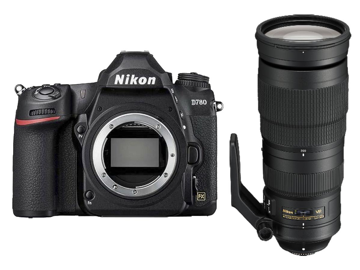 Фото #1: Nikon D780 Body + AF-S NIKKOR 200-500mm f/5.6E ED VR
