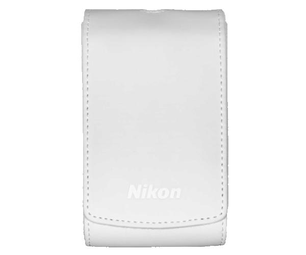 Nikon Чехол для COOLPIX S7000 белыйЧехлы, кофры<br>Черный чехол Nikon COOLPIX. Защищает фотокамеру от пыли и царапин. <br> Применяется для фотокамеры COOLPIX S7000.<br> Вес: 65 гр.<br> Размеры: 112х68х43 мм<br> Материал изготовления: полиуретан<br> Цвет: черный<br><br>Тип: Чехол для Coolpix<br>Цвет корпуса: Белый