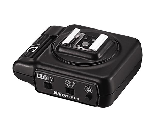 Nikon Беспроводной TTL синхронизатор ведомой вспышки SU-4Кабели, адаптеры, синхронизаторы<br>Аксесуар для беспроводного управления. Он позволяет использовать множество источников освещения.<br><br>Тип: Адаптер вспышки<br>Артикул: FSW53101