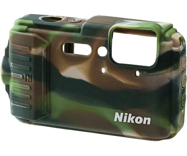 Nikon Силиконовый чехол для AW130 (камуфляж)