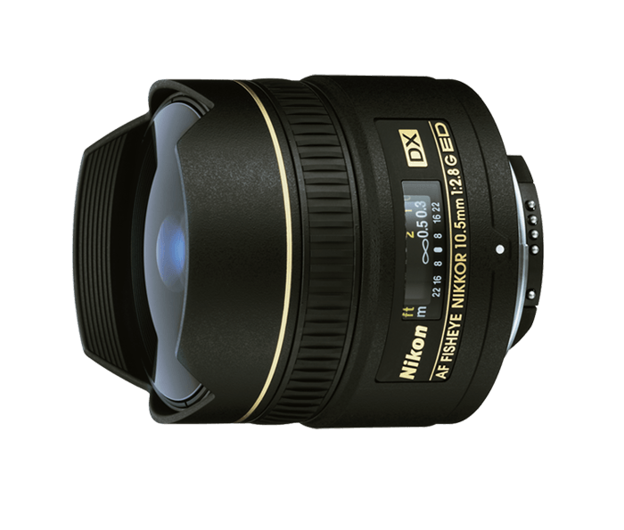 Nikon AF DX NIKKOR FISHEYE 10.5mm f/2.8G ED
