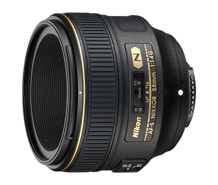 Nikon AF-S NIKKOR 58mm f/1.4G от Nikonstore.ru