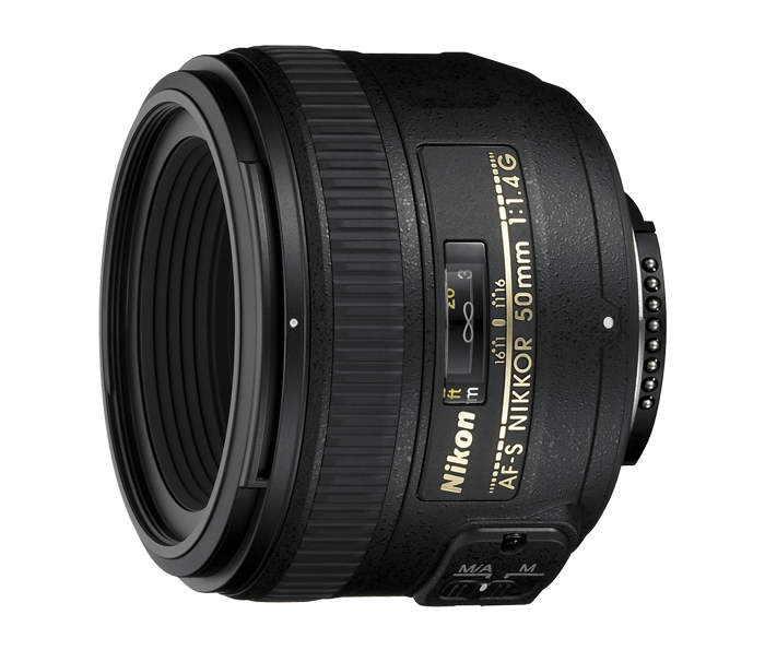 Nikon AF-S NIKKOR 50mm  f/1.4GСтандартные<br>Стандартный объектив с фокусным расстоянием 50 мм, широкой диафрагмой и высококачественной оптикой, оснащенный разработанным компанией Nikon бесшумным волновым приводом (SWM), обеспечивающим тихую работу. <br><br><br> Объектив имеет максимально большую диафрагму f/1,4, которая обеспечивает наличие яркого изображения в видоискателе и идеально подходит для съемки в условиях недостаточного освещения или при необходимости получения небольшой глубины резко изображаемого пространства.<br><br>Тип: С фиксированным фокусным расстоянием<br>Фокусное расстояние: 50 мм (75 мм в формате DX)<br>Максимальная диафрагма: 1.4<br>Минимальная диафрагма: 16<br>Подавление вибраций: Нет<br>Конструкция объектива: 8 элементов в 7 группах<br>Угол зрения: FX: 46°, DX: 31°30<br>Минимальное расстояние фокусировки: 0,45 м<br>Количество лепестков диафрагмы: 9<br>Установочный размер фильтра: 58 мм<br>Артикул: JAA014DA