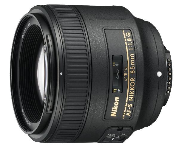 Nikon AF-S NIKKOR 85mm f/1.8G JAA341DA